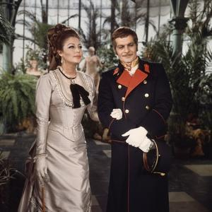 Mayerling by TerenceYoung with Ava Gardner and Omar Sharif, 1968 (photo)