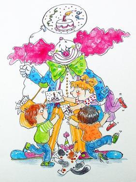 Birthday Clown by Maylee Christie
