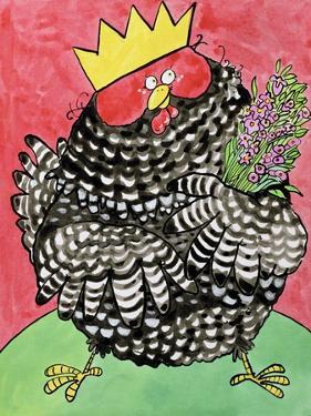 Hen, 1998 by Maylee Christie