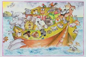 Noah's Crazy Ark, 1999 by Maylee Christie