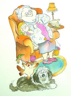 Nona (Grandma) by Maylee Christie
