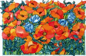 Poppies, 1998 by Maylee Christie