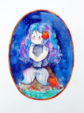 Sad Little Mermaid by Maylee Christie