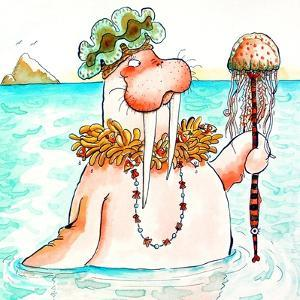Walrus Sea Queen by Maylee Christie