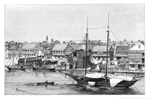 Belize, View Taken from the Harbour, C1890 by Maynard