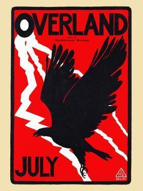 Overland, July by Maynard Dixon