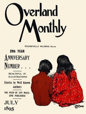 Overland Monthly, 28th Year Anniversary Number... July 1895 by Maynard Dixon