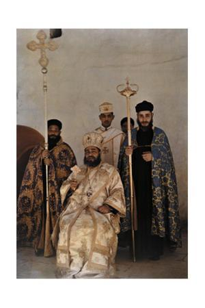 A Spiritual Leader of Egypt's Christians Living in Jerusalem by Maynard Owen Williams