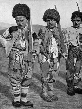 Boys from Artemid, Armenia, 1922 by Maynard Owen Williams