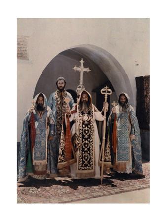 His Beatitude Ignatius Elias Iii and His Followers by Maynard Owen Williams