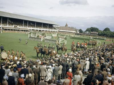 Jumping Teams Pass in Review at the Dublin Horse Show by Maynard Owen Williams