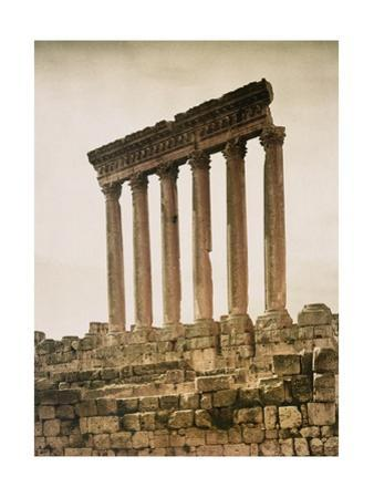Remains of the Jupiter Temple by Maynard Owen Williams