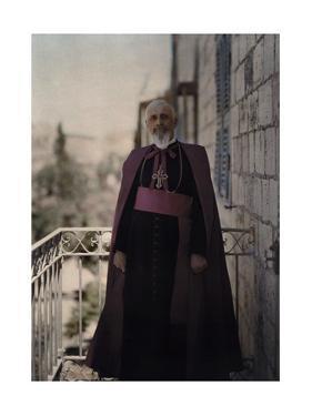 The Latin Patriarch of Jerusalem, His Beatitude Luigi Barlassina by Maynard Owen Williams