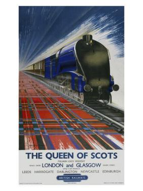 The Queen of Scots, BR Poster,1950s by Mayo