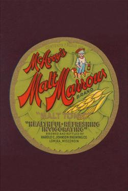 "Mcavoy's Malt Marrows ""Malt Tonic"""
