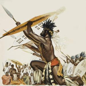 African Warriors by Mcbride