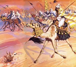 Arabs Pouring across the Desert to Kill Mohamed by Mcbride