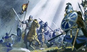 Battle of Hastings by Mcbride