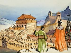 Building the Great Wall of China by Mcbride
