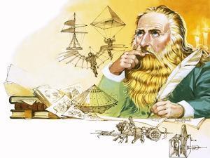 Leonardo Da Vinci by Mcbride