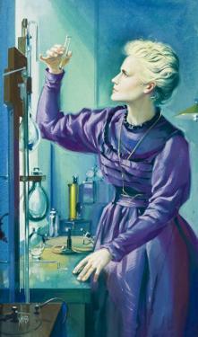 Madame Curie by Mcbride