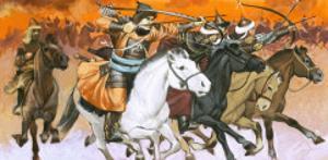 Mongol Horsemen by Mcbride