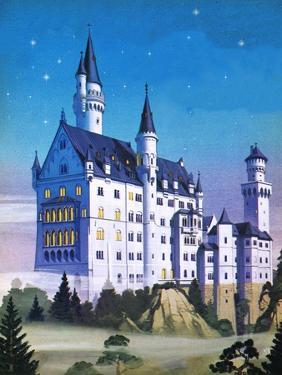 Neuschwanstein -- a Fairy-Tale Castle Built by a 'Madman' by Mcbride