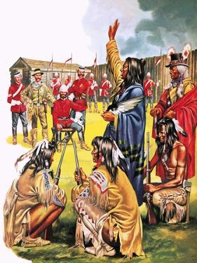 Tales of the Canadian Mounties: the Long March by Mcbride