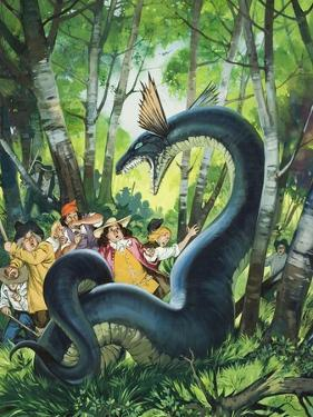 The Dragon of Birchwood by Mcbride