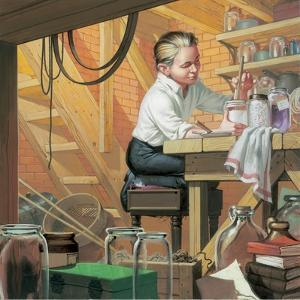 Thomas Alma Edison by Mcbride