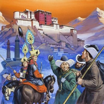 Tibet by Mcbride
