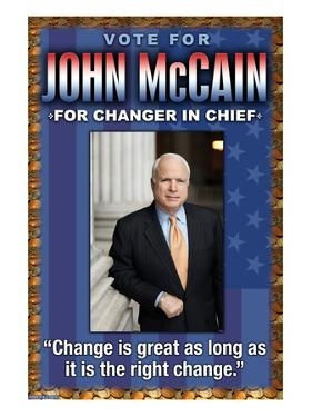 McCain, Change is Great