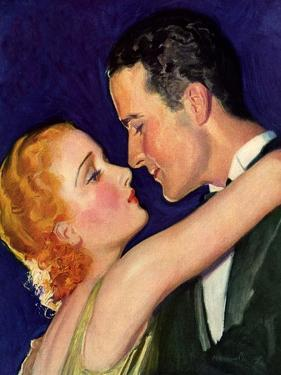Couple Embracing, 1932 by McClelland Barclay