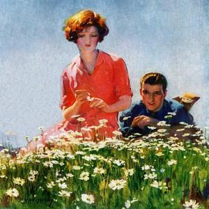 """Field of Dreams,""June 1, 1926 by McClelland Barclay"