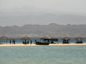 Green Island, a Short Boat Trip from Massawa, Red Sea, Eritrea, Africa by Mcconnell Andrew