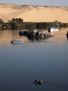 Overlooking the River Nile at Aswan, Egypt, North Africa, Africa by Mcconnell Andrew
