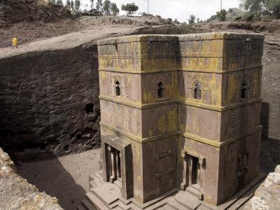 Rock-Hewn Church of Bet Giyorgis, in Lalibela, Ethiopia