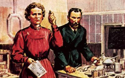 Pierre Curie and Marie Curie