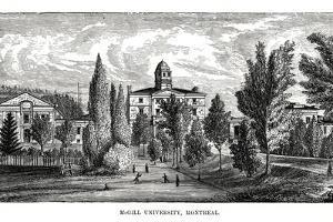 Mcgill University, Montreal, Canada, 19th Century