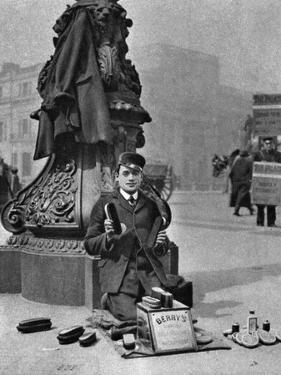 A Bootblack, London, 1926-1927 by McLeish