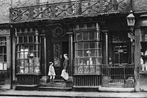 A Shop Front, Artillery Lane, Off Bishopsgate, London, 1926-1927 by McLeish