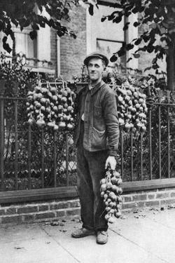 Breton Onion Seller, London, 1926-1927 by McLeish