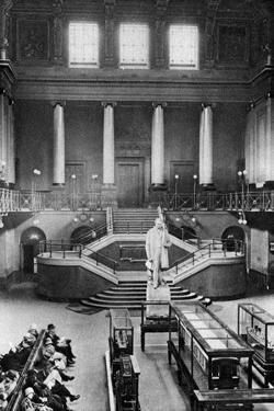 Central Hall, Euston Station, London, 1926-1927 by McLeish