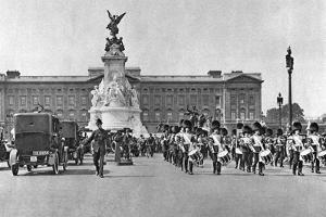 Changing of the Guard, Buckingham Palace, London, 1926-1927 by McLeish