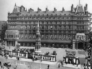Charing Cross Railway Station, London, 1926-1927 by McLeish