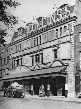 Collins's Music Hall, Islington, London, 1926-1927 by McLeish