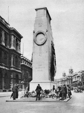 The Cenotaph, Whitehall, London, 1926-1927 by McLeish