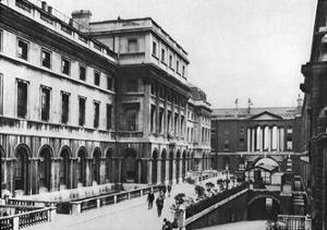 The Eastern Wing of Somerset House, London, 1926-1927 by McLeish