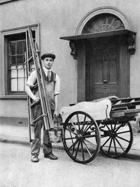 Window Cleaner in Islington, London, 1926-1927 by McLeish