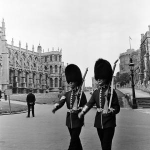 Windsor Castle, Berkshire, 1954 by McLelland